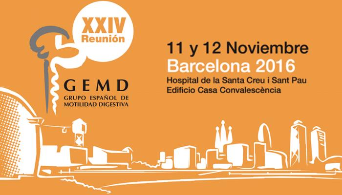 XXIV Reunión Anual del GEMD - Barcelona - 11-12 Noviembre 2016